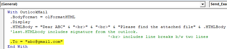 VBA Outlook | How to Send Emails from Outlook Using VBA Code?