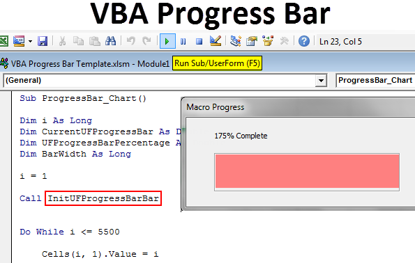 VBA Progress Bar
