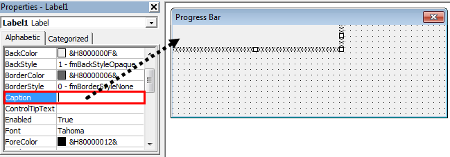 VBA ProgressBar Step 7.1