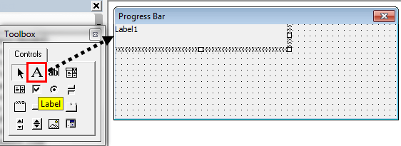 VBA Progress Bar Step 7