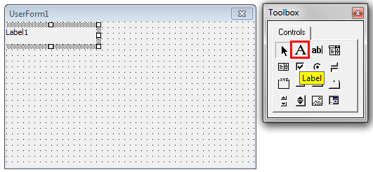 VBA TextBox step 1