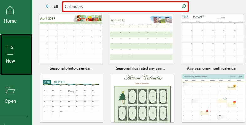 Insert Calendar in Excel | Top Examples to Create & Insert Excel