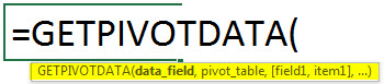 getpivotdata syntax