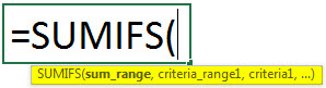 sumif with multiple criteria example 2.2