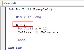 vba do until example 1.10