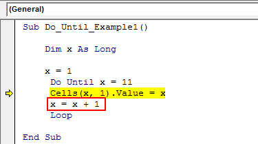 vba do until example 1.12