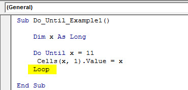 vba do until example 1.6