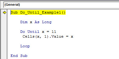 vba do until example 1.7