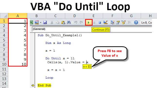 VBA Do Until Loop | Step by Step Examples to Use Do Until