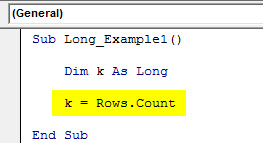 vba long example 1.2