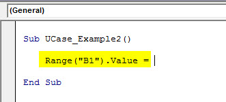 vba uppercase example 2.2