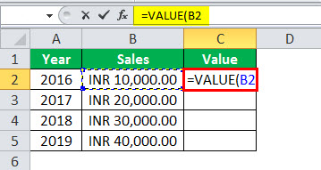 vf excel example 2.3