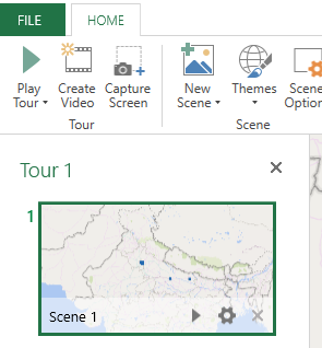 3D Maps Excel Example 1-8
