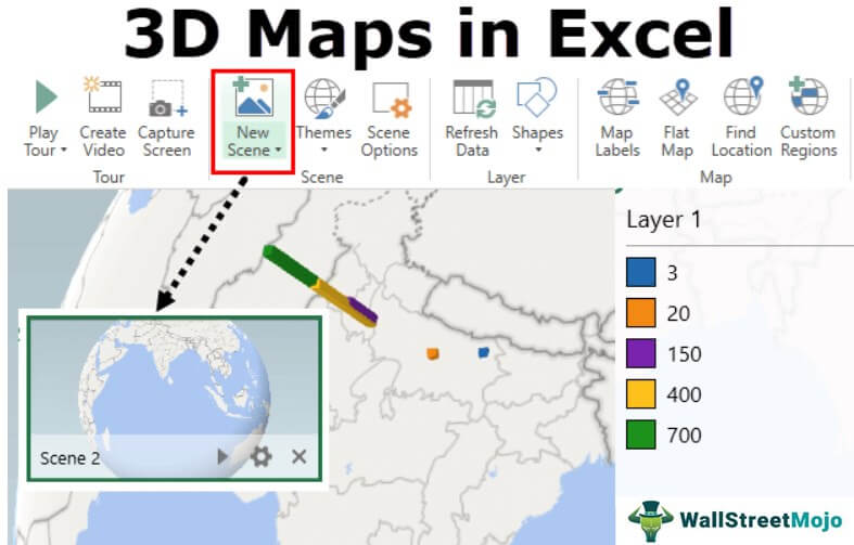 3D Maps in Excel