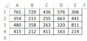 Add multiple rows Example 3