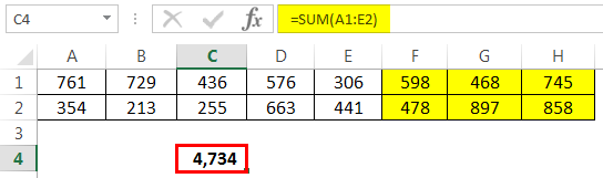 Add multiple rows Example 4-1