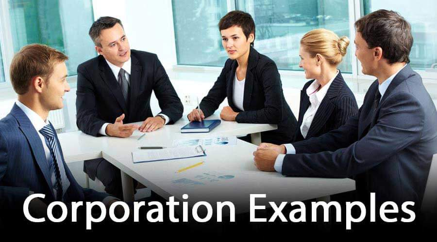 Corporation-Examples