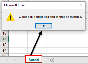 Protect Workbook in Excel | How to Password Protect an Excel