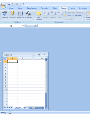 Protect Workbook Excel Example 1-4