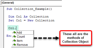 VBA Collection Example 1-2