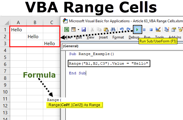 VBA Range Cells