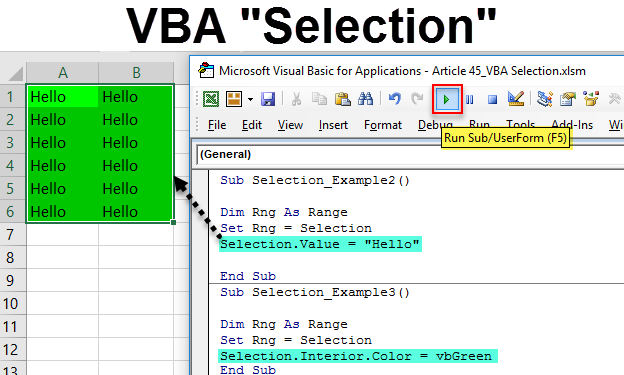 VBA Selection
