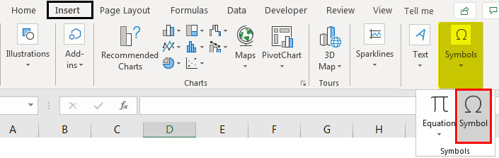 bullet points in excel example 2.1