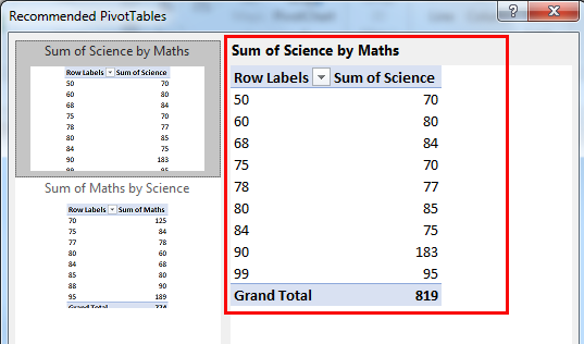 excel pivot table method 2.4