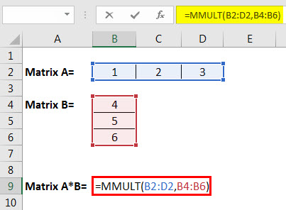 matrix multiplication example 3.2