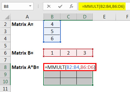 matrix multiplication example 4.2