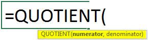 quotient-syntax