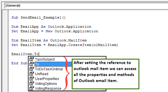 vba send email example 1.6