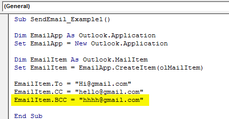vba send email example 1.9