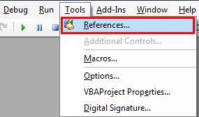 vba send email references1
