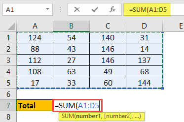 Excel Calculation 4.2