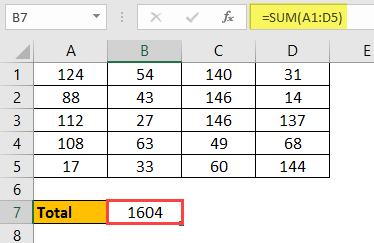 Excel Calculation 4.3
