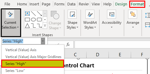 Control Charts Types Example 1.4
