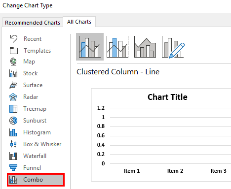 Dot Plots in Excel Example.1.12