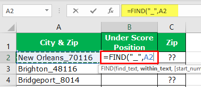 Extract Number from String Excel Example 1-3