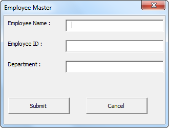 VBA Close UserForm Example 1-8