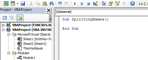 VBA INSTRREV Example 1-5