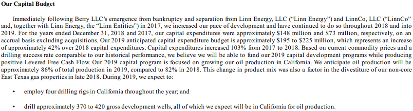 capital expenditure example 3.1