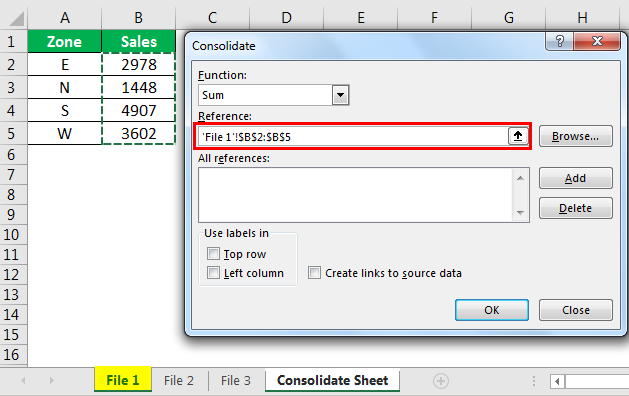 consolidate example 1.9