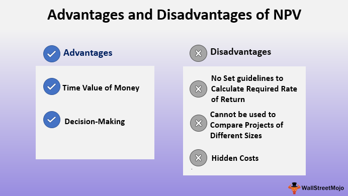 Advantages and Disadvantges of NPV