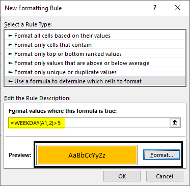 Conditional Formatting for Dates Example 1.10.0