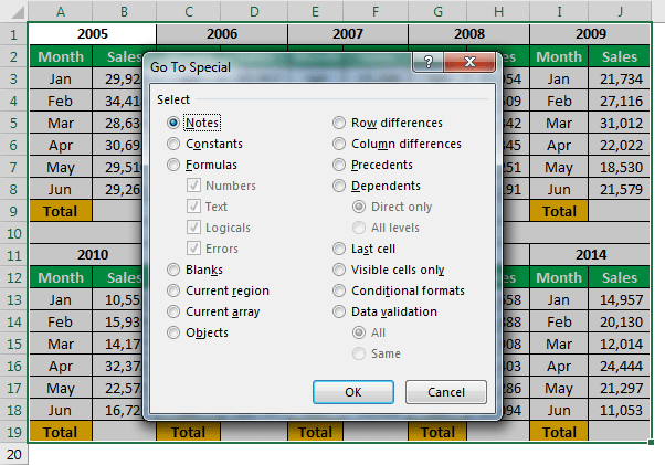 Excel Hacks Example 1-3
