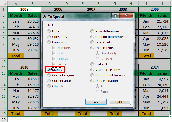 Excel Hacks Example 1-4