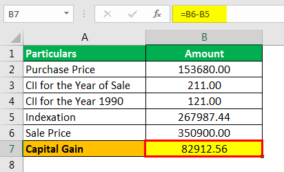 Indexation Formula Example 2.3png
