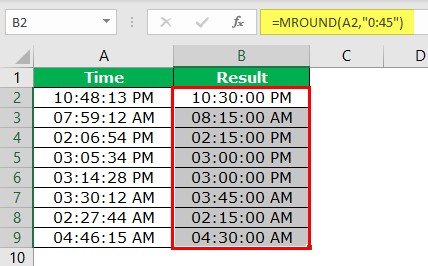 MROUND in Excel | How to Use MROUND Function? (with Examples)