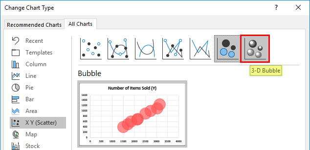 Create Bubble Chart Example 5-4